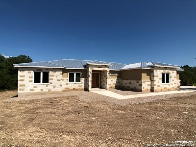 Canyon Lake Single Family Home New: 921 Rhinestone