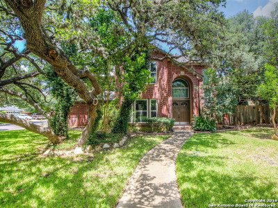 Bexar County Single Family Home New: 16318 Old Stable Rd