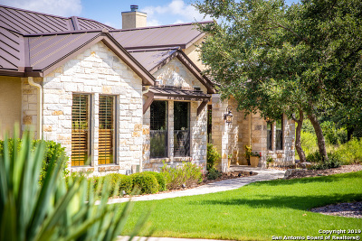 New Braunfels Single Family Home For Sale: 328 Lookout Ridge