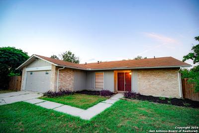 San Antonio Single Family Home New: 9602 Sand Harbor