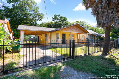 San Antonio Single Family Home New: 1117 Center