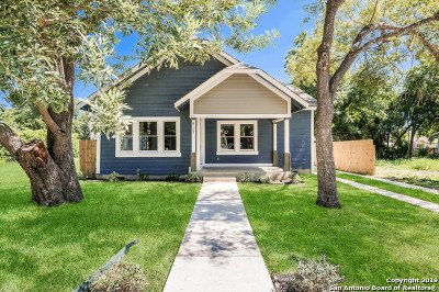 San Antonio Single Family Home New: 827 Lamar