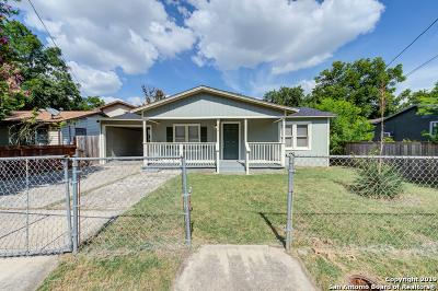 San Antonio Single Family Home New: 606 S San Ignacio Ave
