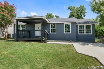 San Antonio Single Family Home New: 518 Cravens Ave
