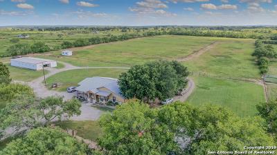 Wilson County Single Family Home New: 3211 Fm 1346