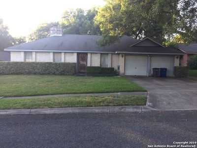 San Antonio TX Single Family Home New: $110,000