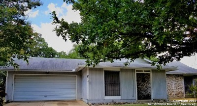 San Antonio TX Single Family Home New: $145,000