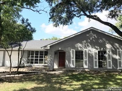 San Antonio Single Family Home New: 5855 Burkley Springs St