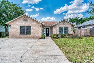 San Antonio Single Family Home New: 501 Saddlebrook Dr