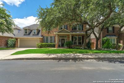 San Antonio Single Family Home New: 18731 Danforth Cove
