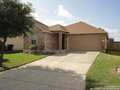 Converse Single Family Home New: 6634 San Miguel Way