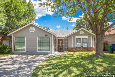 San Antonio Single Family Home New: 10318 Cedarbend Dr