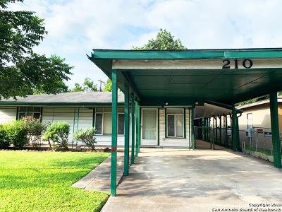 San Antonio TX Single Family Home New: $114,000