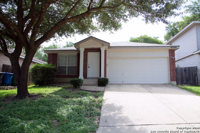 San Antonio Single Family Home New: 9506 Victory Row
