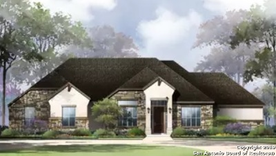 New Braunfels Single Family Home New: 1164 Bordeaux