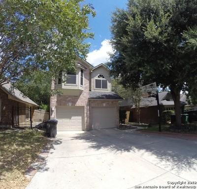 San Antonio Single Family Home New: 15126 Spring Ranch