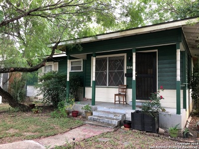 San Antonio Single Family Home New: 254 Venice