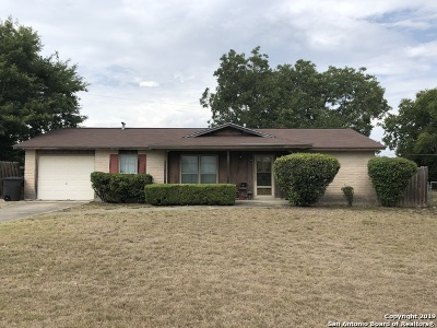 San Antonio Single Family Home New: 3739 Belgium Ln