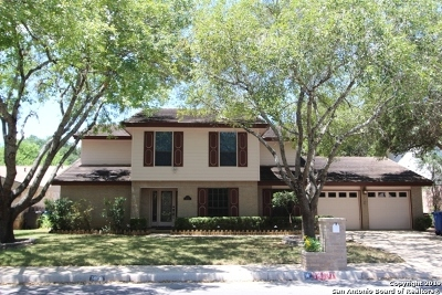 San Antonio Single Family Home Active Option: 14131 Woodstream