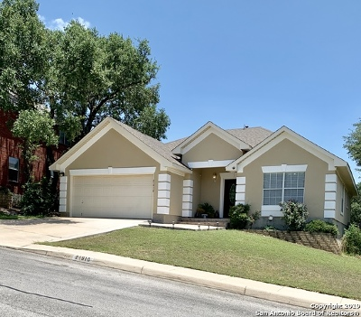 San Antonio Single Family Home New: 21910 Kenton Croft