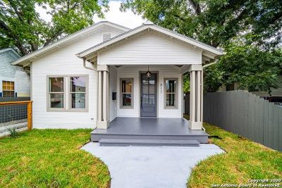 San Antonio Single Family Home New: 817 E Josephine St