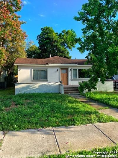 San Antonio Single Family Home New: 410 Haggin St