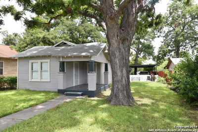 San Antonio Single Family Home New: 747 W Theo Ave