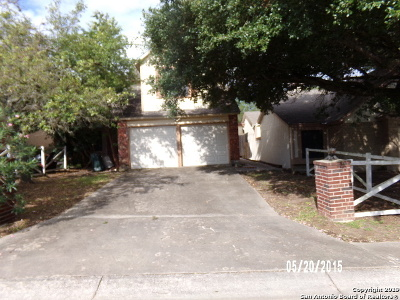San Antonio Single Family Home New: 16643 Fallen Tree Drive