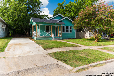 San Antonio Single Family Home New: 706 Avant Ave