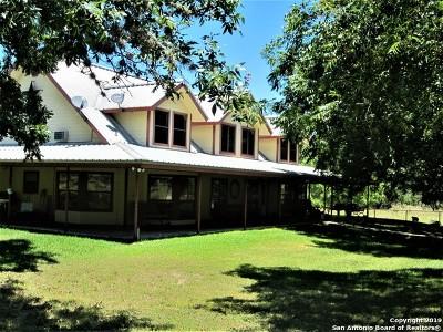 Medina Farm & Ranch For Sale: 1687 Cazey Creek Rd
