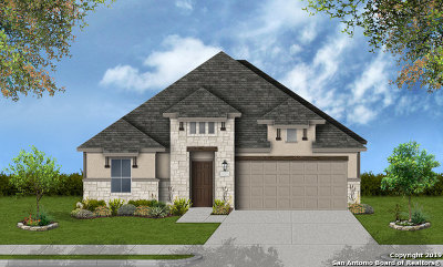 Boerne Single Family Home New: 123 Escondido