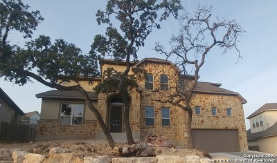 Boerne Single Family Home New: 8703 Sonoma Vista