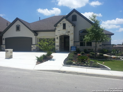 Boerne Single Family Home New: 8722 Versant Bluff