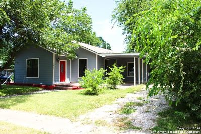 San Antonio Single Family Home Price Change: 1045 Mistletoe Ave