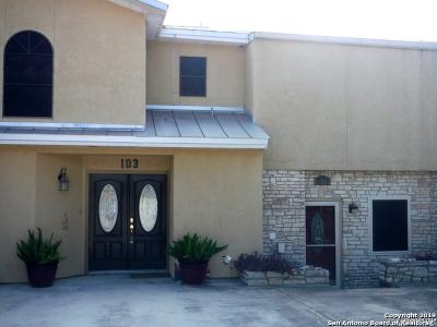 Canyon Lake Condo/Townhouse New: 18035 Fm 306 #102