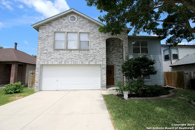 San Antonio Single Family Home New: 13107 Woller Creek