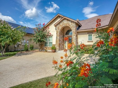 Fair Oaks Ranch Single Family Home For Sale: 30034 Cibolo Trace