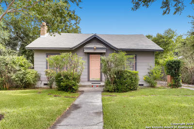 San Antonio Single Family Home For Sale: 255 W Mariposa Dr