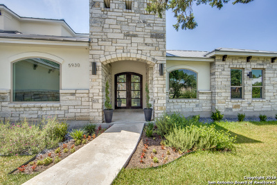 San Antonio Single Family Home For Sale: 5930 Tejas Spring