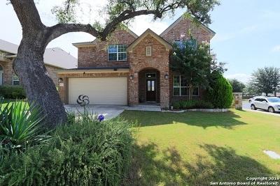 San Antonio Single Family Home Price Change: 25002 Buttermilk Ln