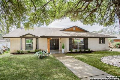 Castle Hills Single Family Home For Sale: 309 Towne Vue Dr