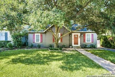 Alamo Heights Single Family Home Active Option: 218 Evans Ave