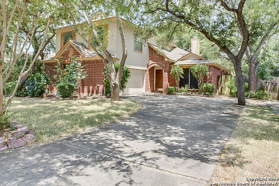 San Antonio Single Family Home Price Change: 1614 Firwick Dr