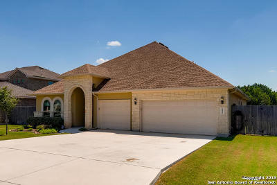 Converse, Live Oak, Selma Single Family Home For Sale: 15519 Capri Ln
