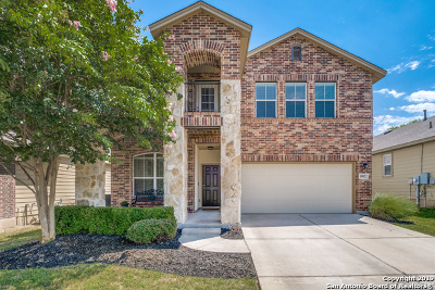 Single Family Home Price Change: 10822 Mustang Oak Dr