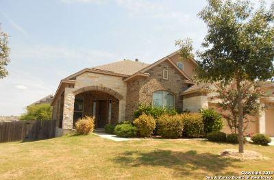 Alamo Ranch Single Family Home For Sale: 12827 Bouvardia
