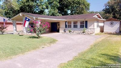 Seguin Single Family Home Active Option: 6 Champions Dr