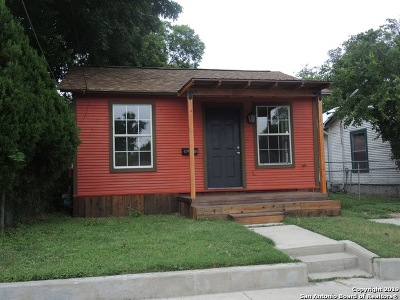 San Antonio Single Family Home For Sale: 2008 Rivas St