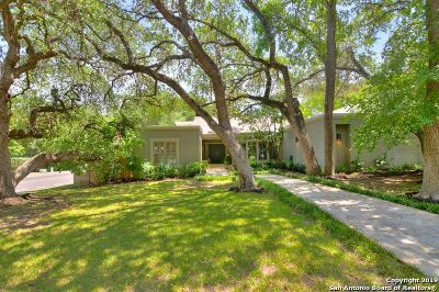 San Antonio Single Family Home For Sale: 13706 Bluffmeadow