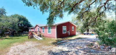 Bulverde, Spring Branch, Canyon Lake Manufactured Home For Sale: 372 Fawn Dr